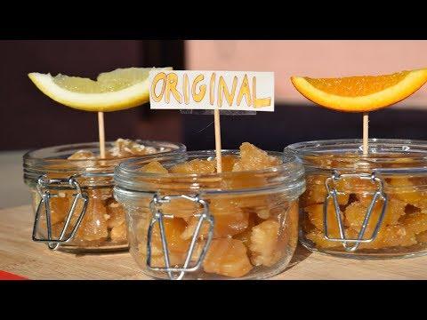 Ginger Chews Original, Lemon And Orange Flavor | Homemade