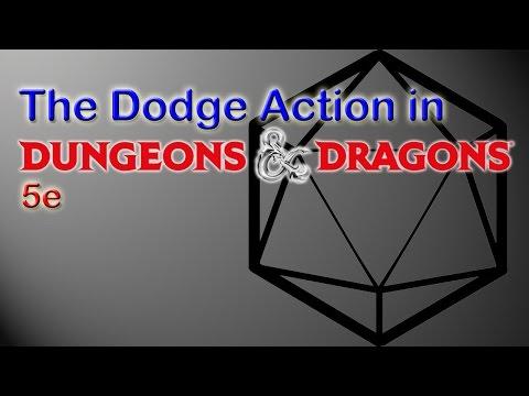 D&D5e Dodge Action