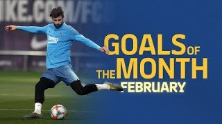 GOALS OF THE MONTH | February's training sessions