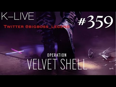 渋声がお送りする、【FPS】レインボーシックスシージ#359【深夜live!!!】