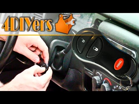 DIY: Programming a Dodge Keyless Remote