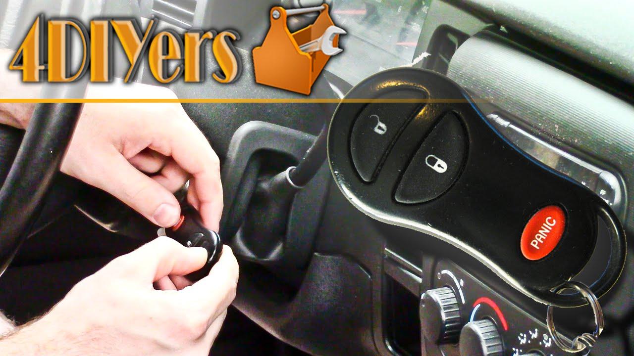 DIY: Programming a Dodge Keyless Remote  YouTube