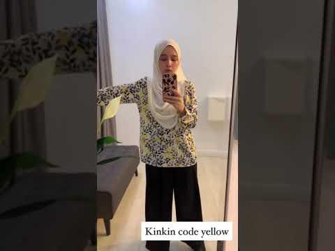 Kinkin Blouse 5 RM100 boleh mix design