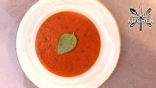 Tomato & Basil Soup | Basics Recipe | Budget Recipe
