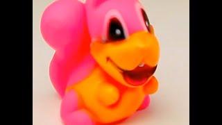 Обзор - распаковка игрушек Пищалка Белка в сетке Арт: V231