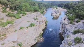 Magical place in France by drone - summer 2017
