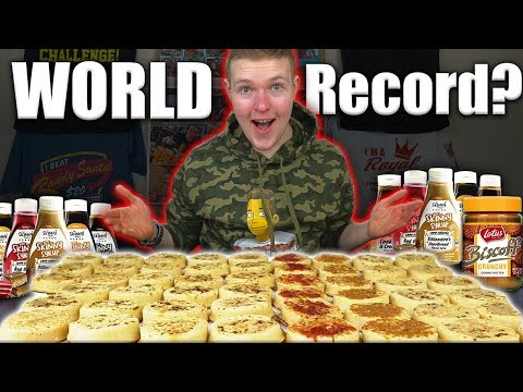 THE MOST CRUMPETS EVER EATEN CHALLENGE! | WORLD RECORD!?