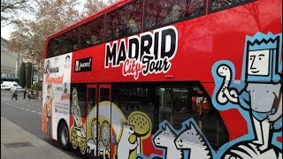 Madrid City Hop-On Hop-Off