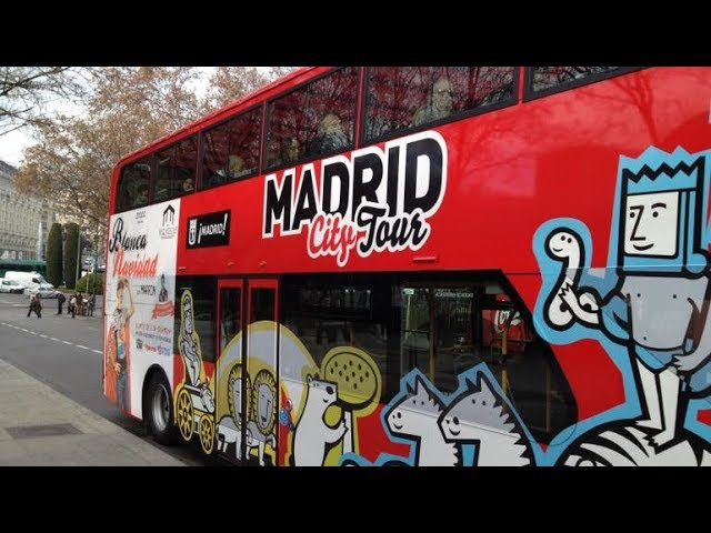 Madrid City Hop-On Hop-Off