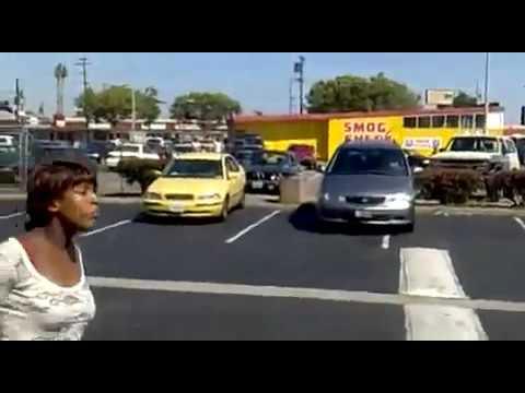 Pregnant in Oakland Parking Lot Brawl