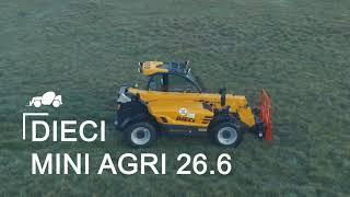 Landwirtschaft/Technik/Fahzeuge Dieci Mini Agri 26.6 vs Dieci Pivot T 70