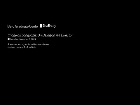 Image as Language: On Being an Art Director