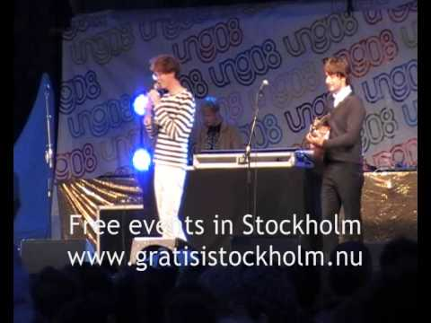 Kings of Convenience & Slagsmålsklubben - Live at Ung08-festivalen, Kungsträdgården, Stockholm