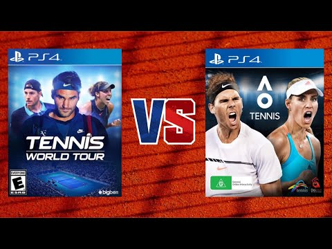 Tennis World Tour vs. AO International Tennis - Which one is the better Tennis game?