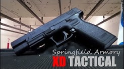 SPRINGFIELD ARMORY XD TACTICAL - .45 ACP