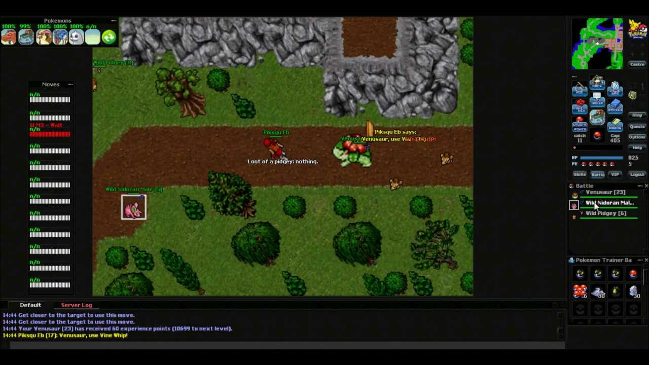 Tibia/Pokemon Online 2012 RPG - YouTube