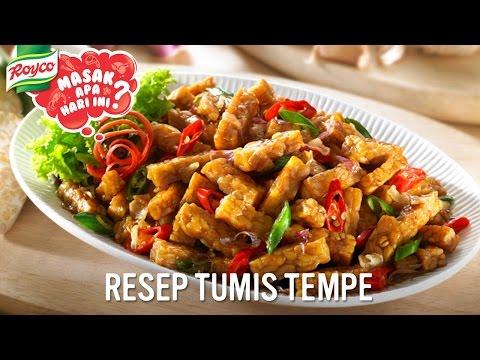 Resep Royco - Tumis Tempe