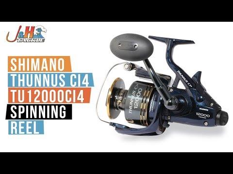 9355bd09016 Shimano Thunnus Ci4 TU12000CI4 Spinning Reel | J&H Tackle