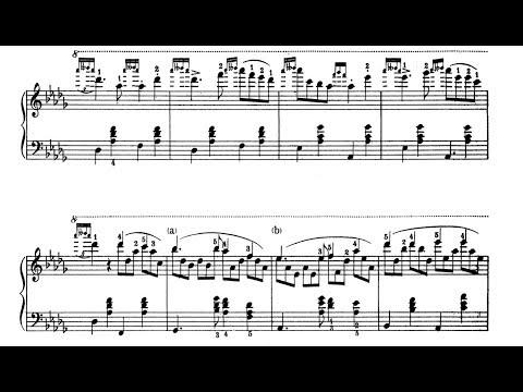 Gottschalk - Pasquinade (Caprice), Op. 59 - Ivan Davis Piano