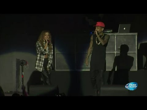 Tinashe w/ Kid Ink - Body Language (Live at Power 106's