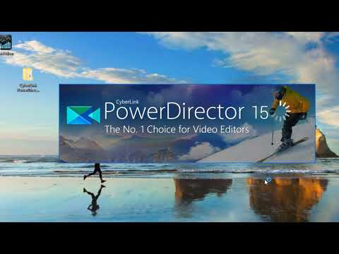How to get Cyberlink Powerdirector 15 Ultimate fully registered for  free