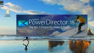 install full version power director 15 tamil