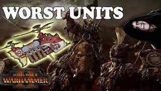 The Worst Unit For Each Faction | Total War Warhammer 2 List