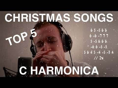 TOP 5 Christmas Songs | C HARMONICA TABS