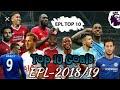 Magoli 10 Bora Ligi Ya Uingereza (EPL-2018/19) | Top 10 Premier League Goals (EPL-2018/19)