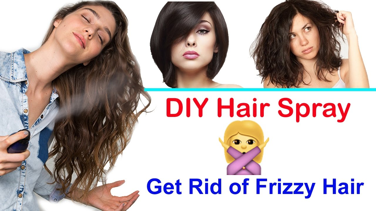 How To Get Rid Of Frizzy Hair Naturally
