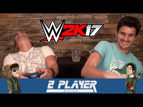2 Player Co-Op Plays WWE 2K17