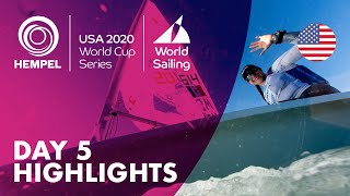 Day 5 Highlights   Hempel World Cup Series Miami 2020