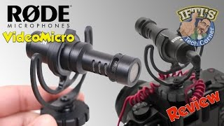 Rode VideoMicro External Microphone with Rycote Lyre Shock Mount : REVIEW