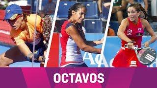 Resumen Octavos (Tarde) Madrid WOpen2018