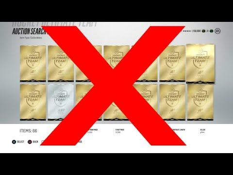 NHL 18 -  Don't Buy Gold Collectibles (Here's Why)