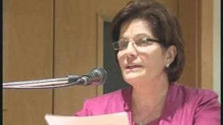 Mrs Catherine Gonzi address - Seminar about women