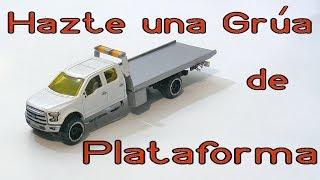 Hacer una Grúa plataforma hot wheels - Making a Hot Wheels Flat bed tow truck thumbnail