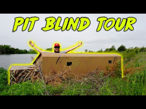 Touring My Hunting Pit Blind
