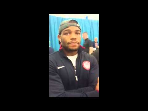 Jordan Burroughs Interview from London Olympics 2012