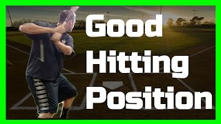 Batting Stance | How to Load | Good Hitting Position