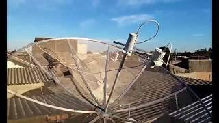 Como Apontar Antena Banda C Satélites C1/C2/C3 (passo a passo)