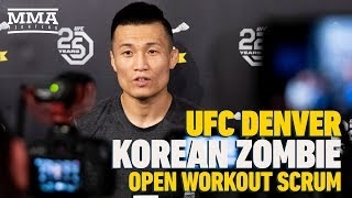 UFC Denver: 'Korean Zombie' Expects Max Holloway To Remain Champ For 'Quite A Long Time'