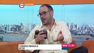 Buen día Uruguay - Leonardo Sbaraglia 09 de Noviembre de 2016