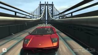 GTA 4 - Аварии, трюки и падения (Stunts and Crashes) #14