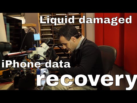 iPhone 5S data recovery after liquid damage