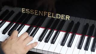 PIANO CAUDA ESSENFELDER 150 F