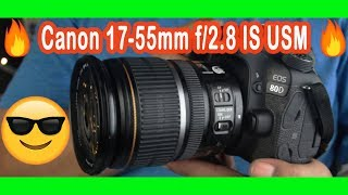 Canon EFS 17-55mm EF S 17-55mm F2.8  IS USM EXCELLENT CONDITION