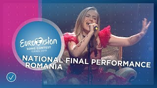 Ester Peony - On A Sunday - Romania 🇷🇴- National Final Performance - Eurovision 2019
