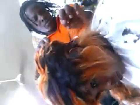 Wig cutting  (Africa Benin)