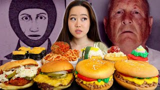 He Ate Dinners at Victim's Houses After His Murders | Golden State Killer | REAL + IMPOSTER MUKBANG
